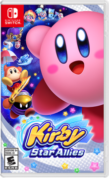 Kirby™ Star Allies Boxart