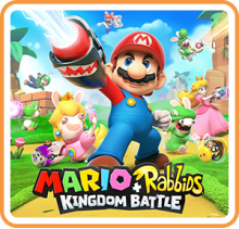 Mario + Rabbids Kingdom Battle Gold Edition Boxart