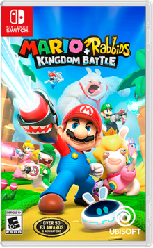 Mario + Rabbids® Kingdom Battle Boxart