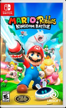 Mario + Rabbids® Kingdom Battle Boxart