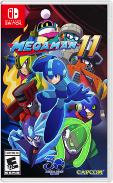 Mega Man® 11 - amiibo Edition Boxart