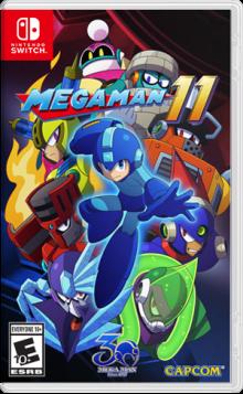 Mega Man 11 Boxart