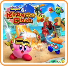 Super Kirby Clash™  Boxart