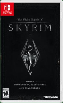 The Elder Scrolls V: Skyrim Boxart