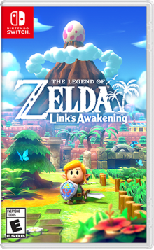 The Legend of Zelda™: Link's Awakening Boxart