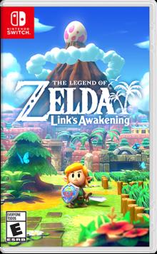 The Legend of Zelda™: Link's Awakening Boxart