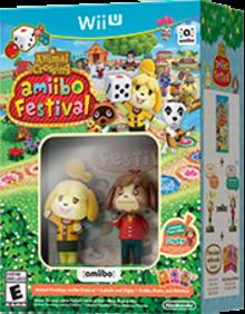 Animal Crossing: amiibo Festival Boxart