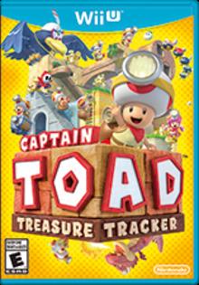 Captain Toad: Treasure Tracker Boxart
