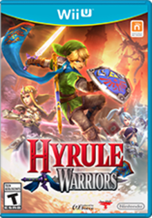 Hyrule Warriors Boxart