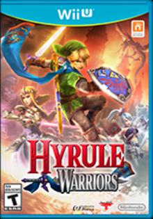 Hyrule Warriors Boxart