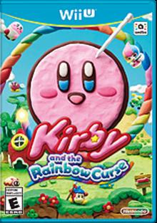 Kirby and the Rainbow Curse Boxart