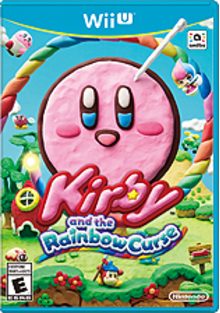 Kirby and the Rainbow Curse Boxart