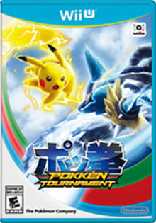 Pokkén Tournament Boxart