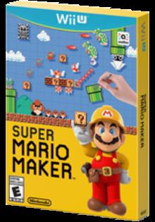 Super Mario Maker Boxart