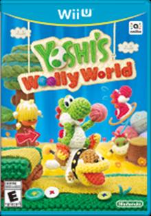 Yoshi's Woolly World Boxart