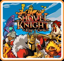 Shovel Knight: King of Cards Boxart