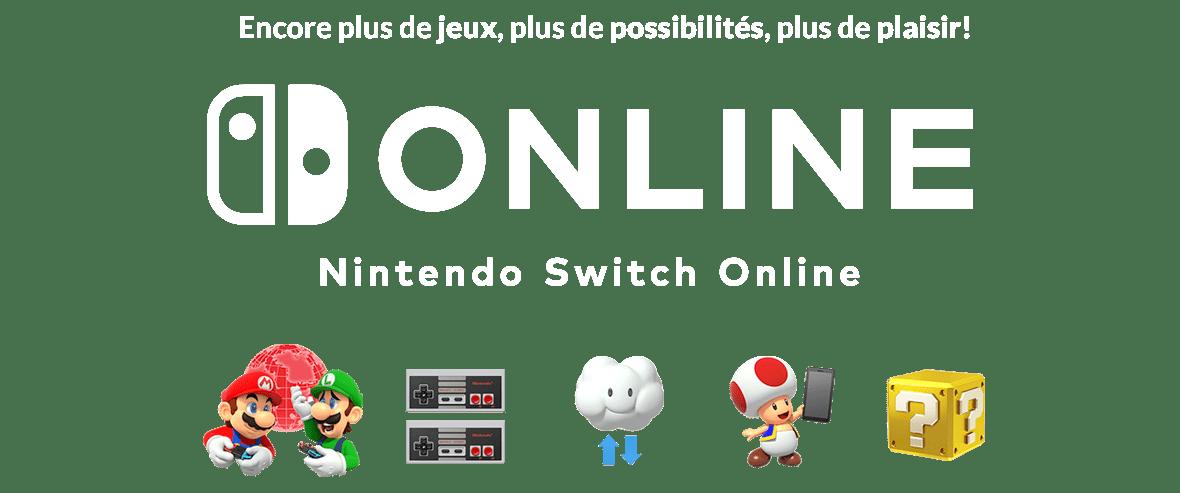 Encore plus de jeux, plus de possibilités, plus de plaisir! - Nintendo Switch Online
