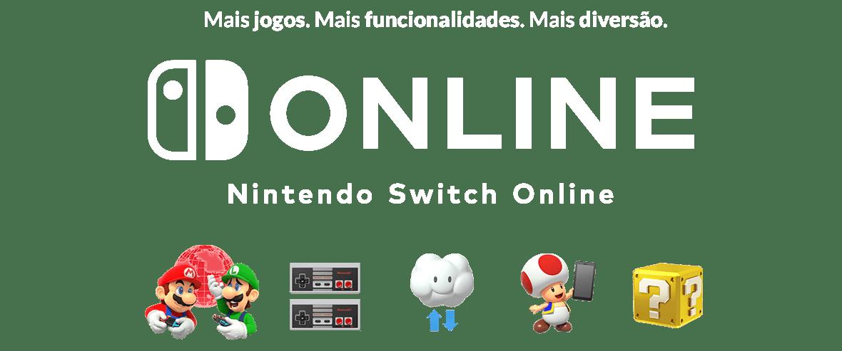 Mais jogos. Mais funcionalidades. Mais diversão. - Nintendo Switch Online