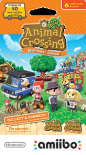 Animal Crossing: New Leaf - Welcome amiibo series Boxart