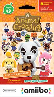 Animal Crossing Cards - Series 2 Boxart