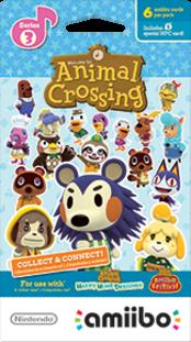 Animal Crossing Cards - Series 3 Boxart