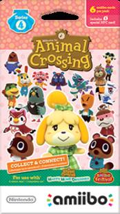 Animal Crossing Cards - Series 4 Boxart
