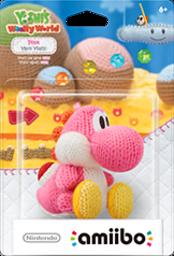 Pink Yarn Yoshi Boxart