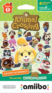 Animal Crossing Cards - Series 1 Boxart