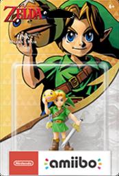Link - Majora's Mask Boxart