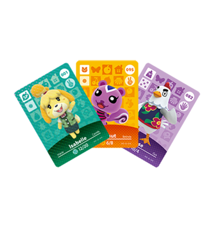Animal Crossing Cards - Series 1 figure