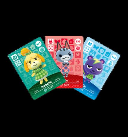 Animal Crossing Cards - Series 4 figure