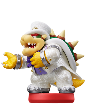 Bowser (Wedding Outfit) figure