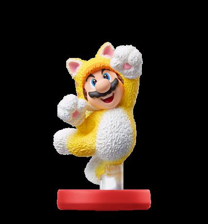 Cat Mario figure
