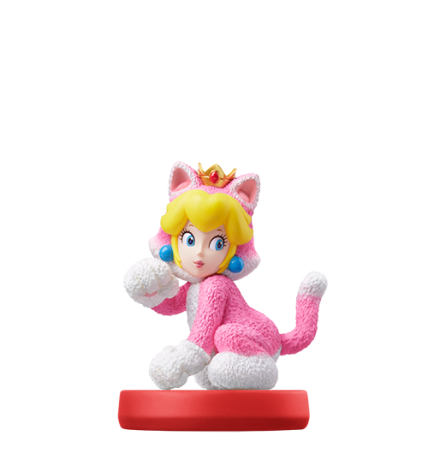 Cat Peach figure