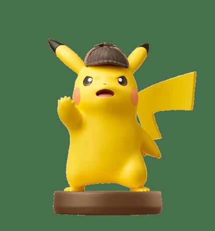 Detective Pikachu figure