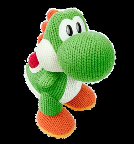 Mega Yarn Yoshi figure