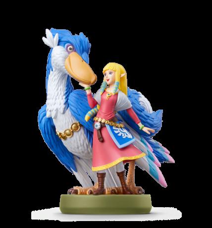 Zelda and Loftwing figure