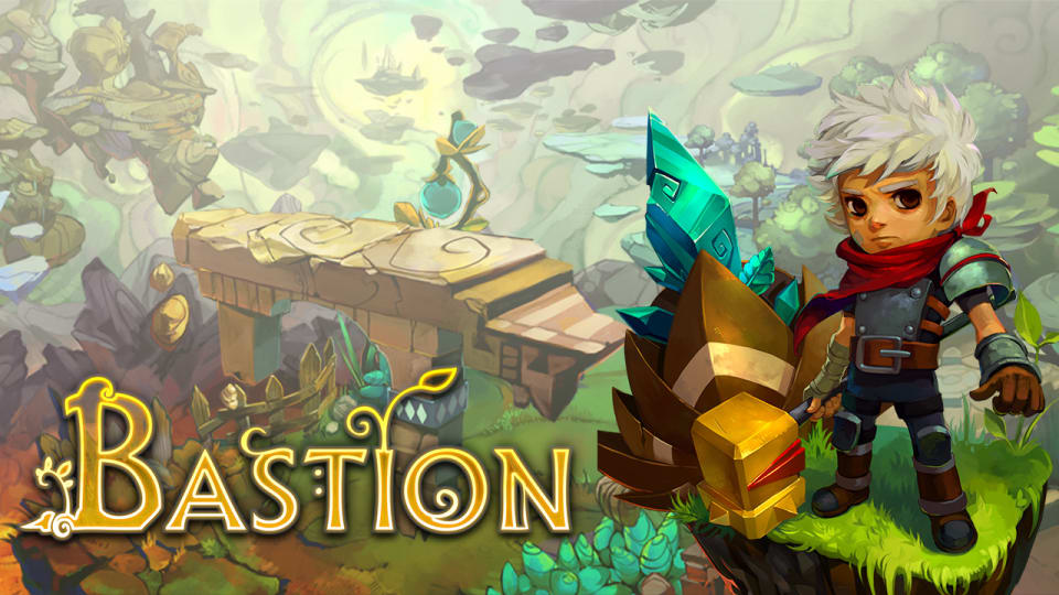 Title Screen from Bastion