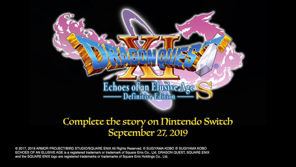 Dragon Quest Xi S Echoes Of An Elusive Age Definitive Edition For Nintendo Switch Nintendo Game Details