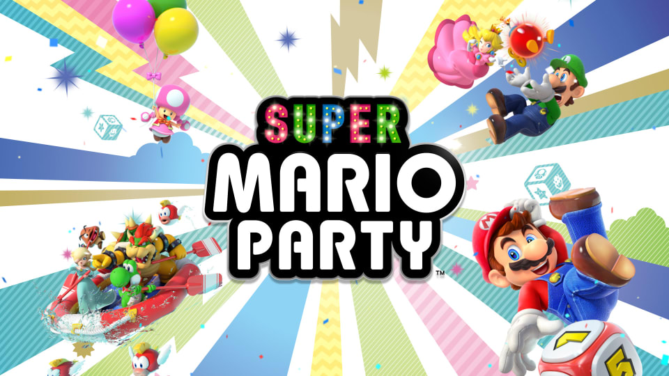 Super Mario Party For Nintendo Switch Nintendo Game Details