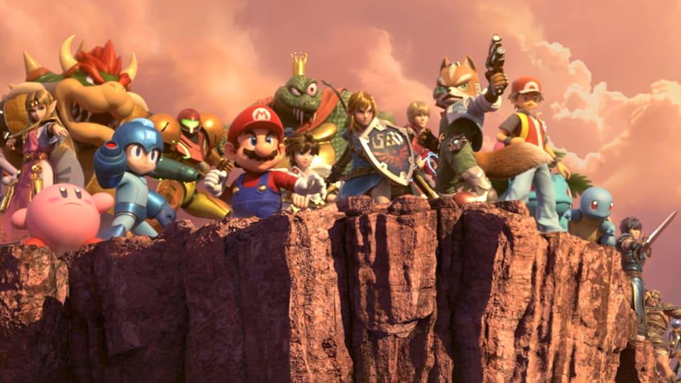 Super Smash Bros.™ Ultimate para la consola Nintendo Switch - Detalles de los juegos de Nintendo