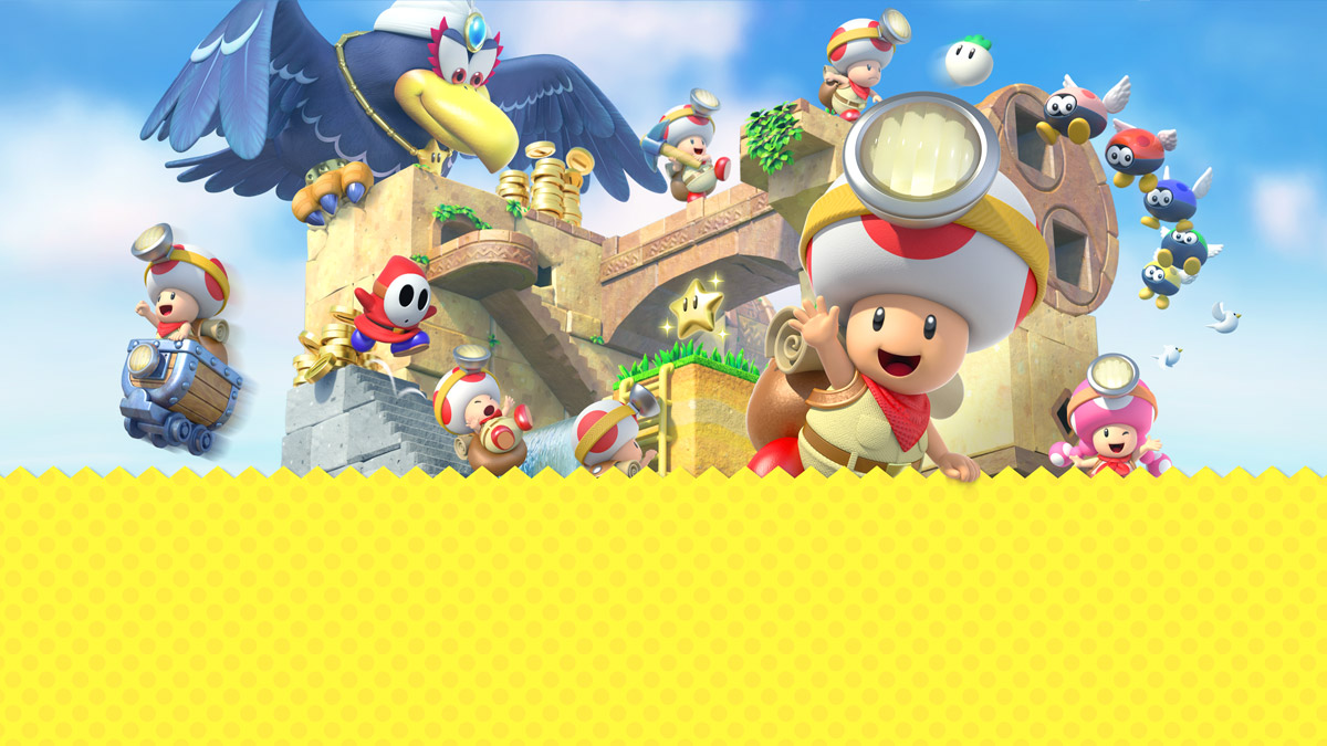 Captain Toad Printable Coloring Pages Play Nintendo