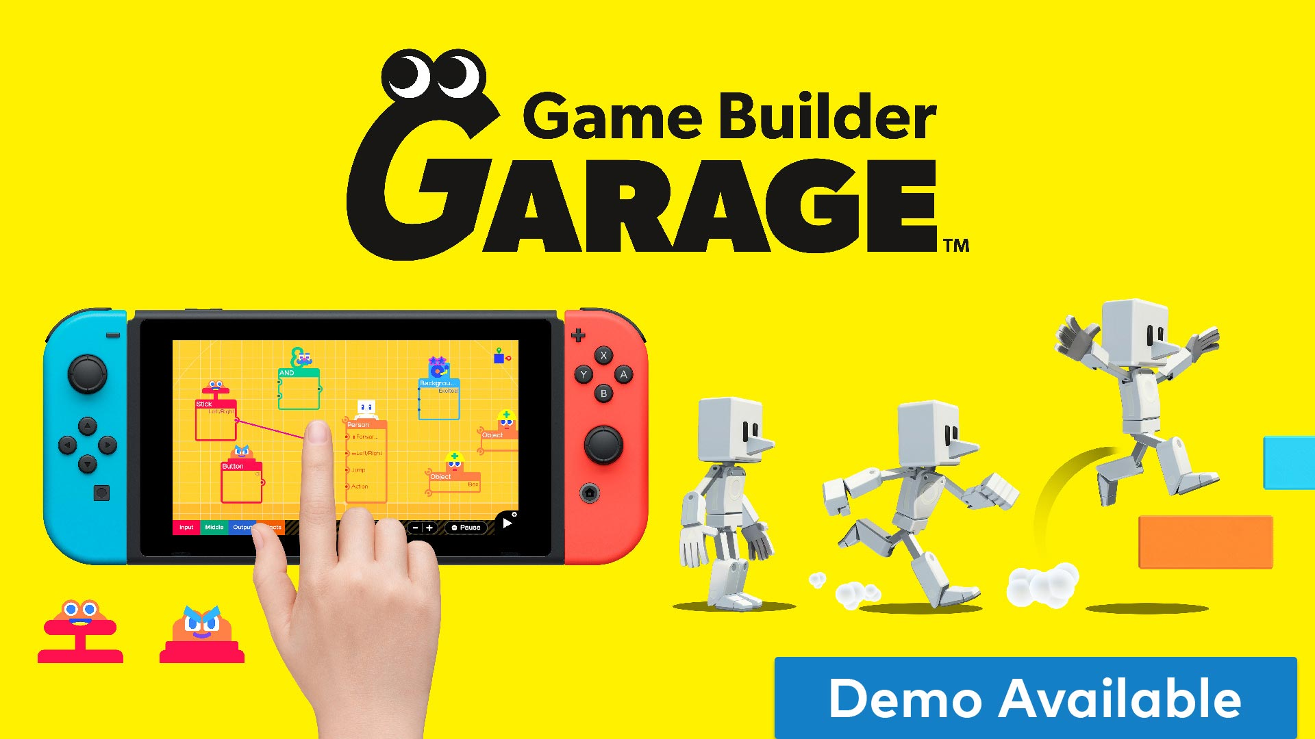 Game Builder Garage for Nintendo Switch - Nintendo Game Details